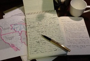 Writing with Pen and Paper
