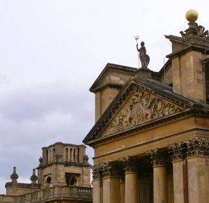 Blenheim Pediment