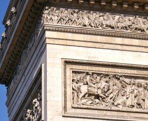 le Arc de Triomphe - Detail