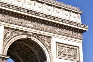 le Arc de Triomphe - Close-up
