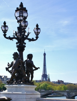 Pont Alexandre III and Tour Eiffel