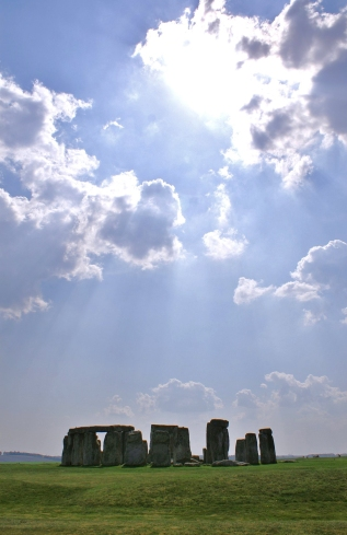 Stonehenge in Sunlight