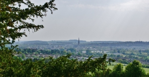 Salisbury from Old Sarum