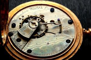 Hampden Springfield Grade Pocket Watch, circa 1881