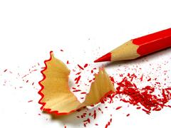 Le crayon rouge