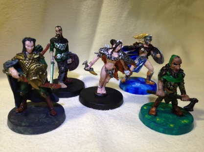 """Blood Rage: Small """"Monsters"""""""