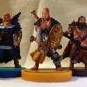 Blood Rage: Raven, Serpent, Bear Clan Warriors