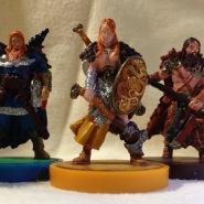 Blood Rage: Raven, Serpent, Bear Clan Warriors